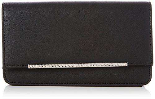New Look Sleek Diamonte Bar, Pochettes femme, Black, 3.5x9x15 cm (W x H L)
