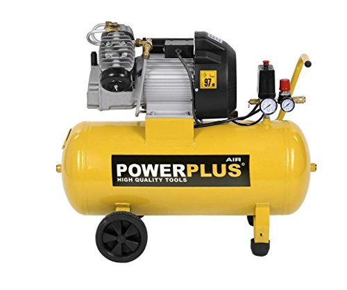 PowerPlus POWX1770 - Compresor 2200W 3Cv 50L Aceite
