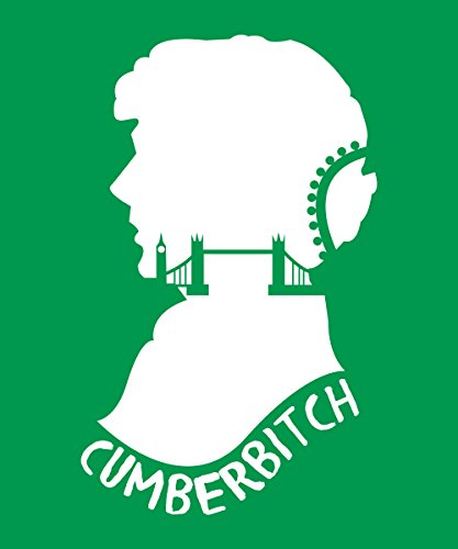 -- Cumberbitch -- Boys T-Shirt Kelly Green