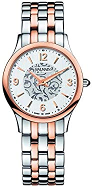 Balmain Women's Silver Dial Metal Band Watch - B29983314, Multi Color Band, Analog Dis
