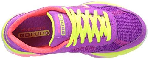 Skechers GO Run Ride Mädchen Sneakers Purple Multi