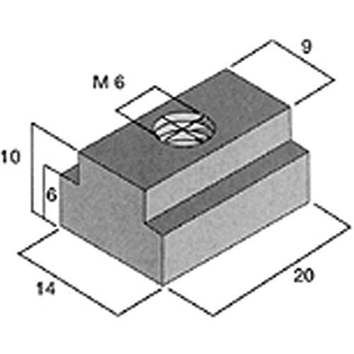 PROXXON 20394 Befestigungssatz für Maschinenschraubstock PRIMUS 75 (20392) + 100 (20402)