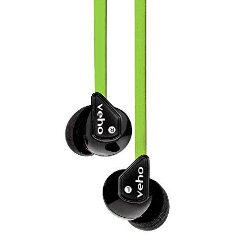 Veho Veho Z1 - Auriculares estéreo, Color Verde