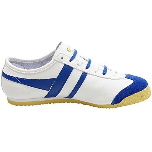 Gola Baskets Femmes et Hommes Harrier 40TH Blanc / Bleu