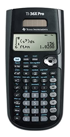 Texas Instruments TEX-TI36XPRO Calculatrice Scientifique