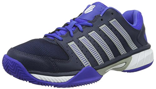 K-Swiss Performance Herren Express Ltr HB Tennisschuhe, Blau (Dressblues/Highrise/Electricblue 485), 43 EU
