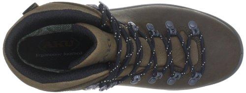AKU TRIBUTE INJ GTX 136–Chaussures de randonnée en cuir unisexe Marron