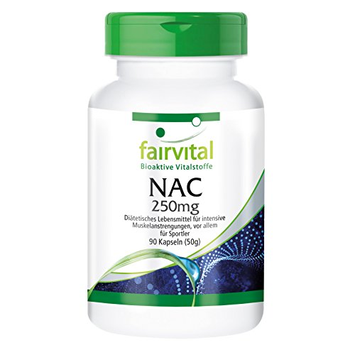 41wtoe1agcL. SS500  - NAC 250mg - Bulk Pack for 3 Months - 90 Capsules - N-Acetyl-cysteine   - Amino Acid