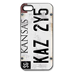 Personalized Supernatural License Plate Number for iPhone 5/5S Case,Durable Hard Plastic Case,Supernatural iPhone 5 Case