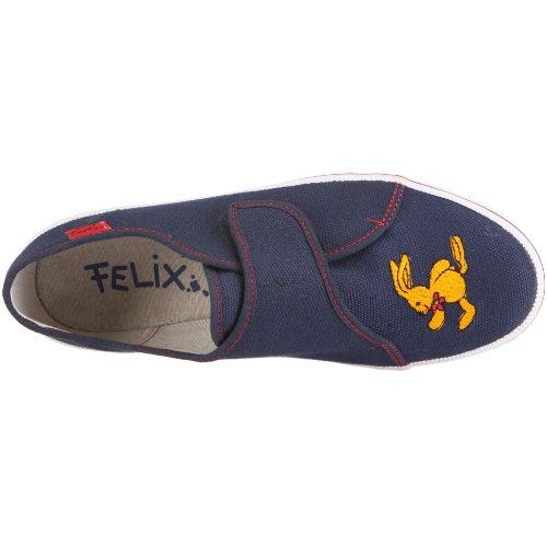Felix, der Hase Malte 145776, Scarpe da ginnastica unisex bambino Blu (Blau/dunkelblau/rot)