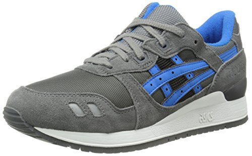 Asics Gel-Lyte III Synthétique Chaussure de Course Grey-Mid Blue