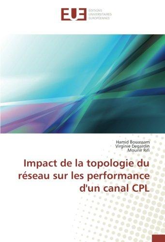 Impact de la topologie du reseau sur les performance d'un canal CPL par Hamid Bouassam