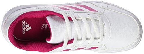 Bianco Ftwr Bianco Noir Sneakers Rosa Fille Adidas Altasport Grassetto Bassi ftwr AzPAvn