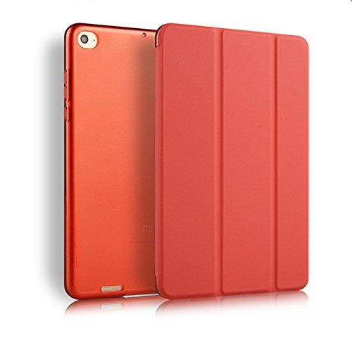 SPL Classic Premium PU Leather Book Cover for Xiaomi Mi Pad 2 / Mi Pad 3 (Red)