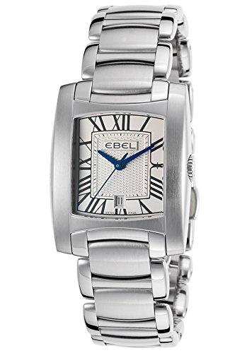 Ebel Brasilia 9257M31-61500 28mm Silver Steel Bracelet & Case Anti-Reflective Sapphire Women's Watch