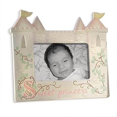 Girls Once Upon a Time Sweet Princess Castle Ceramic Picture Photo Frame by Grasslands Road