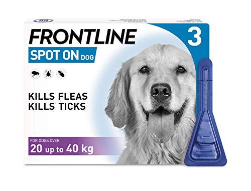 Frontline Spot On per cani di taglia grande, 20-40kg 3pipette