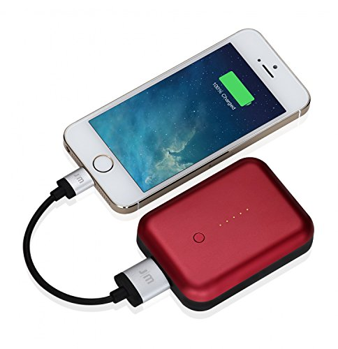 Just Mobile Gum++ Portable USB Power Pack 6000 mAh Rot Just Mobile Gum