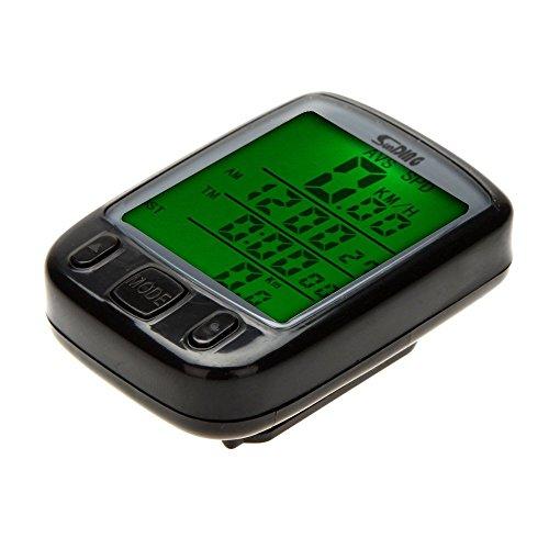 tourwin Vélo Cyclisme Ordinateur Odomètre Compteur Écran LCD rétroéclairé Rétro-éclairé étanche multifonction