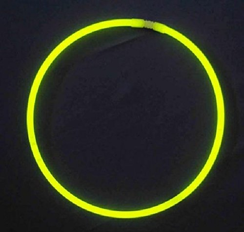 Mondial-fete - 50 Colliers fluo jaune