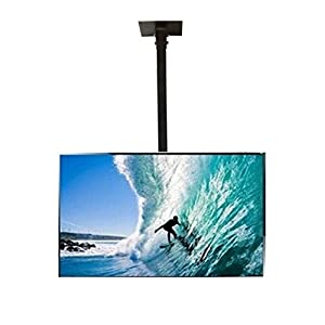"Smart Shelter LCD / LED / PLASMA TV Height Adjustable Ceiling / Roof Mount Stand (for TVs up to 42"" inches)"