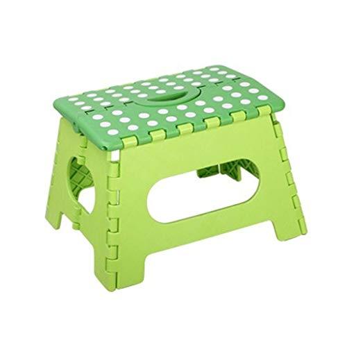 Zz chair sgabello pieghevole, peso portante 250kg antiscivolo portatile robusto e facile da riporre in cucina (colore : c)