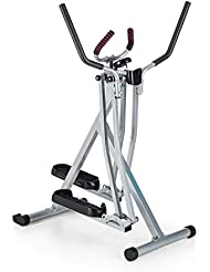 Capital Sports Crosswalker • Vertical & Horizontal Swinging Movement • Training Computer with LCD Display • Anti-Slip Plastic Tread Surface • Small Base • Foldable Construction • Ergonomic Handrails with Hygienic Foam Padding • 2 Colours