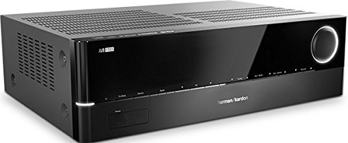 Harman/Kardon AVR 171S 700 Watt 7.2-Kanal Audio/Video Receiver (7 x 100 Watt) mit 6 x HDMI, Apple AirPlay, Internetradio, DLNA 1.5, USB und Bluetooth Konnektivität - Schwarz (Harmon Audio-receiver Kardon)