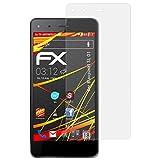 atFolix Schutzfolie kompatibel mit Blaupunkt SL 01 Bildschirmschutzfolie, HD-Entspiegelung FX Folie (3X)