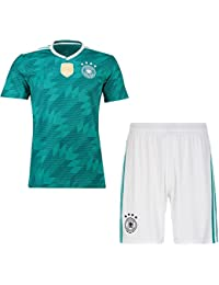 CHhehee Personalice el Conjunto de Camisetas de fútbol de Jersey para  Hombres y niños 29698acb12a95