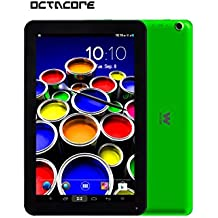 "Woxter TB26-224 - Tablet de 10.1"" (Octa Core Bluetooth 4.0 + WiFi, 16 GB, 1 GB RAM, Android 4.4 actualizable a versión 5.0), verde"