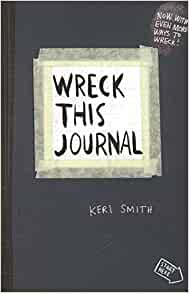 Crazy image pertaining to wreck this journal printable pages