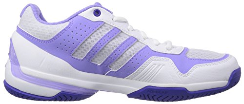 Adidas Performance Rally Court, Chaussures de Tennis Femme Multicolore (ftwr White/night Flash S15/light Flash Purple S15)