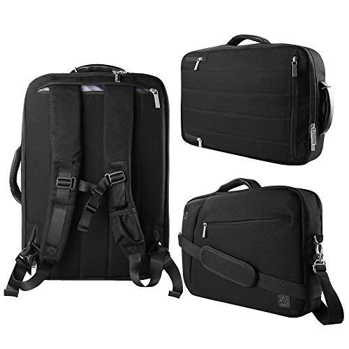 Vangoddy Slate-in Hybrid Laptop Tasche für Dell XPS/Latitude/Inspiron/Chromebook/27,9cm -13inch, schwarz (Weiß) - EHLAPLEA023LU.02 (Dell Xps 13 Laptop Weiß)