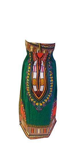 Generic Damen Neckholder Kleid One size Grün