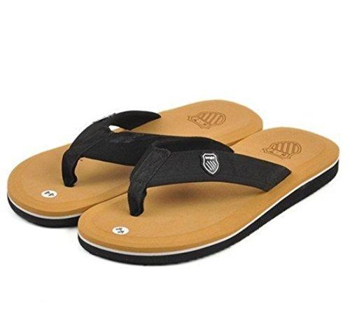 Men's Bakham Soft EVA Beach Flip Flops Casual Slipper yellow