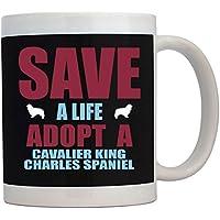Teeburon SAVE A LIFE , ADOPT A Cavalier King Charles Spaniel Tazza
