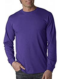 Delifhted Mens 100% Cotton HD Long Sleeve T-Shirt