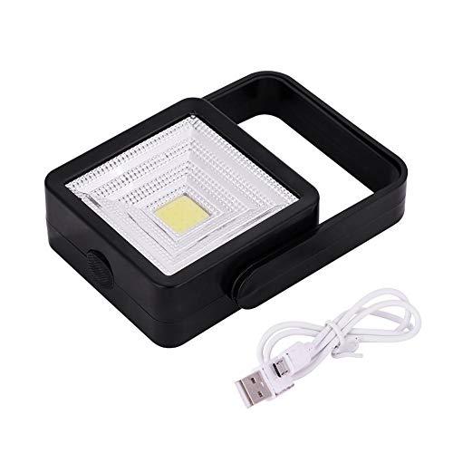 Zerodis LED Solarbetriebene Camping Licht Solar Strahler Solarleuchten Outdoor Solar Energy Bulb Lampe Beleuchtung Tragbare Fernbedienung Notlicht für Wandern Angeln Camping Zelt (Schwarz) -