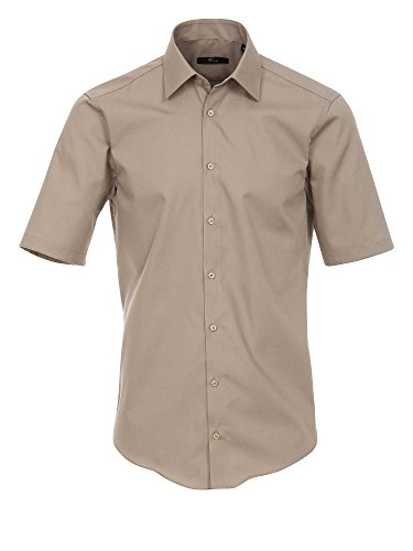 Venti Herren Businesshemd 001620 Dunkelbeige