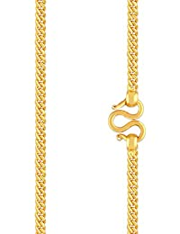 Malabar Gold and Diamonds 22KT Yellow Gold Chain for Women