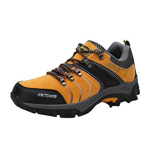 Bluestercool Scarpe da Trekking Uomo Donna Arrampicata Sportive All'aperto Escursionismo Sneakers Army
