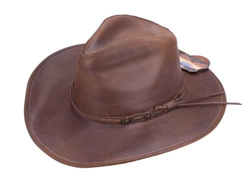 Lederhut, Cowboyhut, Nubuklederhut