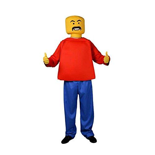 Lego-Männchen-Kostüm (Kostüm Lego)