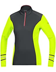 GORE RUNNING WEAR Damen Warmer Thermo-Langarm-Lauf-Jersey, GORE Selected Fabrics, MYTHOS LADY 2.0 Thermo Shirt long, SMYTTL