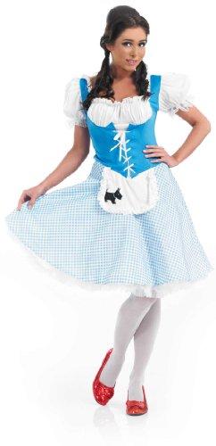 Erwachsene Für Toto Kostüm - Dorothy - Adult Costume Lady: L (UK 16-18)