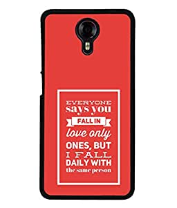 PrintVisa Designer Back Case Cover for Micromax Canvas Xpress 2 E313 (best way to say I love you)