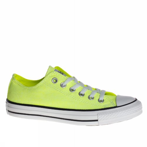 Converse Chuck Taylor All Star Wash Neon Ox, Baskets mode femme C VERDE