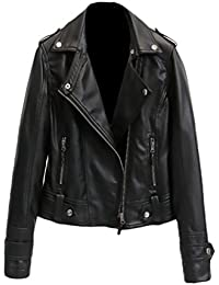 Verarbeitung finden Online-Verkauf Brandneu Suchergebnis auf Amazon.de für: Lederjacke Imitat Damen ...