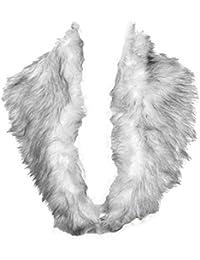 Bufanda HotStyleZone, de invierno y a la moda, fabricada en piel sintética, para mujer